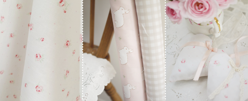 Lilly White Designs pretty and elegant fabrics